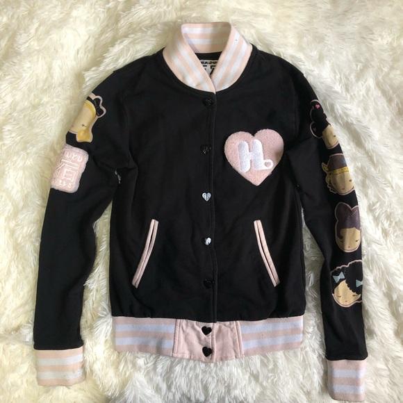 c1d39b28b Harajuku Lovers Women's Baseball Bomber Jacket S